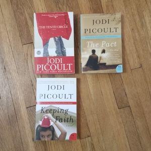 Jodi Picoult Books Set of 3